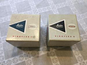 Empty Leica Visoflex II boxes