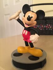 DISNEY'S MICKEY MOUSE ON A NEWS REEL FIGURINE  BY APPLAUSE