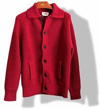 Hermes Men's Red 100% Cashmere & Lambskin Vest SzM, BNWT!