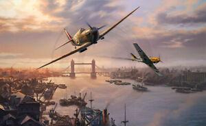 Nicolas Trudgian LONDON PRIDE Large Signed LE Art Print RAF Battle Of Britain