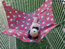 "Ferret Large Hammock - Christmas Pattern - 15"" x 17"""