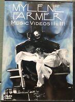DVD - MYLENE FARMER - MUSIC VIDEOS VOL 2 & 3