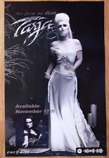 Music Poster Promo Tarja Turunen Spirits & Ghosts Dark Christmas Double Sided
