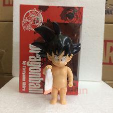 Dragon Ball Z Young Son Goku Shower Bath towel PVC Figure Gift Be