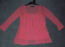 Regular Lace 3/4 Sleeve Tops and Blouses for Women