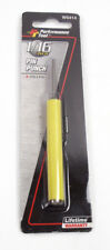 """Performance Tool 1/16"""" X 4"""" Long Pin Punch With Plastic Grip W5414"""