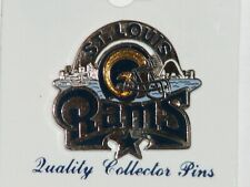 Siskiyou St. Louis, Rams quality collector pin, made in USA