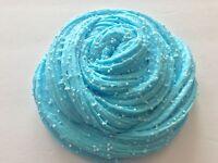 Crunchy Floam Slime - Scented Sky Blue 2oz.