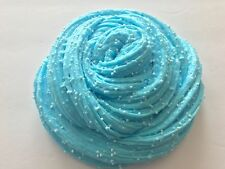 "Crunchy Floam Slime - Scented Sky Blue 5oz. "" Watch Video """