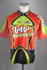 vintage Nalini lotto mobistar jersey bike Gr. 6 BW 56cm cycling Rad Trikot KE6