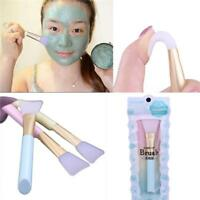 Pro Silicone Facial Face Mask Mud Mixing Skin Care Beauty Makeup Brush DB