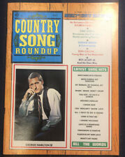 Vintage Country Song Roundup July 1970 Chet Atkins, Don Gibson, Roy Acuff  F47