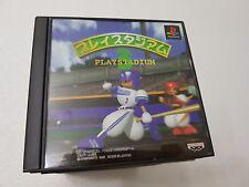 PSX SONY PLAYSTATION JAP NTSC BASEBALL PLAY STADIUM 3 - BANPRESTO - NO SPINE