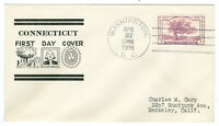 USA 772-773 COLOR CACHET FIRST DAY COVERS FDC VF SOUND ONE BLOCK 4