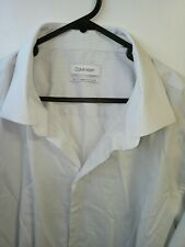 Calvin Klein Men's Dress Shirt, Size 46/92