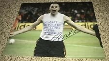 Andres Iniesta Signed 11x14 Photo 2010 World Cup Winning Goal With Proof