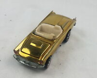 Restored Hot Wheels Redline - 1969 - Classic '57 T-Bird - Gold