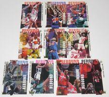 1994/95 Fleer Ultra NBA Basketball Rebound Kings 10-Card Insert Set Shaq Zo NM