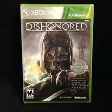 Dishonored PLATINUM HITS (Microsoft Xbox 360, 2012) BRAND NEW