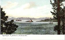 Victoria British Columbia BC - Entrance to Harbour - Unused - Good - T.N. Hibben