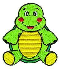 ag74 Schildkröte Aufnäher Bügelbild Comic Applikation Patch Kinder Flicken DIY