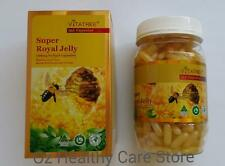 3xVitaTree Super Royal Jelly 1600mg 6% 10-HDA 365 Softgel Capsules(Express Post)