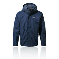 Craghoppers Mens Orion Jacket Top - Navy Blue Sports Outdoors Full Zip Hooded