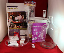 1 Gallon Wine Making Equipment Kit,Homebrewing,Home wine making,wine starter kit