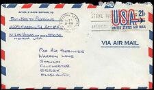Estados Unidos 1973 cubierta aéreo comercial a Inglaterra #c 32700