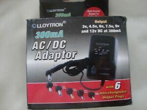LLOYTRON - AC/DC ADAPTOR - NEW BOX