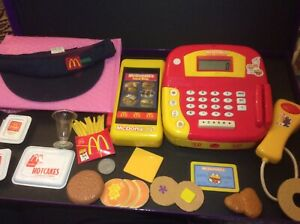Rare Vintage Mcdonalds Fast Food  Cash Till Suitable For Dolls