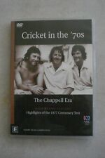 - CRICKET IN THE 70'S - THE CHAPPELL ERA [DVD] REGION 4 [BRAND NEW] NOW $12.75