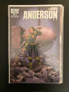 Judge Dredd: Anderson 1 High Grade IDW Comic Book CL58-228