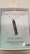 NWT .925 Sterling Silver Venice and Violet By Dogeared FAMILY Necklace