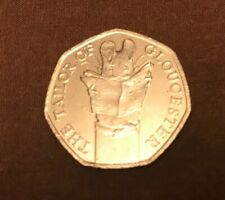 The Tailor of Gloucester British Royal Mint Rare 50p Fifty Pence Coin Hunt
