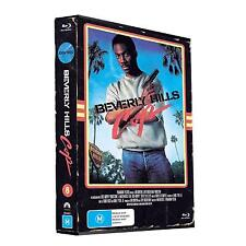 Beverly Hills Cop-Blu-ray DVD LIMITED-Numbered  + Cards & T-Shirt Transfer NEW