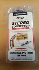 SCOSCHE 88-05 Car Stereo Connector GMDA for GM CHEVROLET PONTIAC Wiring Harness