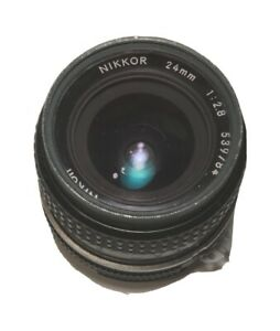 Nikon Nikkor 24mm 1:28 539784 Camera Lens