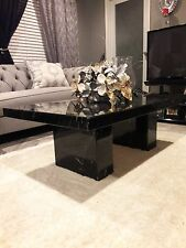 Genuine Italian Marble Coffee Table - Rectangular