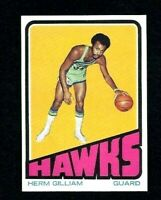 NMT 1972 Topps Basketball #113 Herm Gilliam.