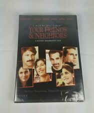 New Sealed Your Friends & Neighbors DVD Ben Stiller Jason Patric Widescreen