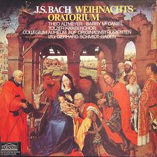 J.S. BACH Weihnachts-Oratorium Altmeyer Mc Daniel GER Press Parnass 62 598 3 LP