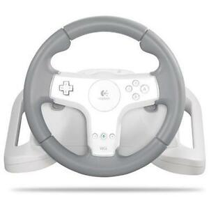 New Logitech Speed Force Racing Wheel for Nintendo Wii Need For Speed Undercover