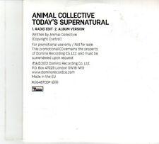 (DP187) Animal Collective, Today's Supernatural - 2012 DJ CD