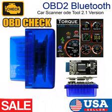 Bluetooth OBD OBD2 Scanner Auto Car Code Reader Engine Fault Diagnostic Tool