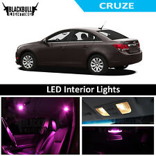 Pink LED Interior Lights Replacement Kit for 2011-2014 Chevy Cruze 7 bulbs