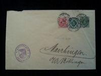 Altdeutschland Württemberg  1912 - Brief  Dienstumschlag Feuerbach - Böbling