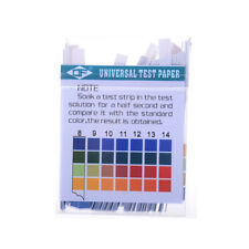 New 100 Strips 1-14 PH Alkaline Acid Indicator Paper Water Saliva Litmus FT