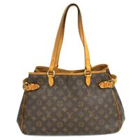 Louis Vuitton Batignolles Horizontal M51154 Monogram Shoulder Hand Tote Bag LV