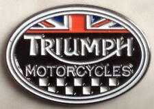 Triumph motorcycle biker badge Speedmaster America Bonneville Trophy Tiger BNIP